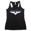 United Mettle Women's Logo Tank - Black/Silver
