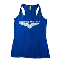 United Mettle Women's Logo Tank - Blue