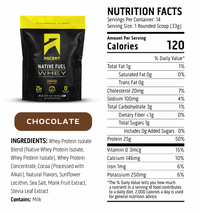 Ascent Native Whey Protien (Single) - Chocolate