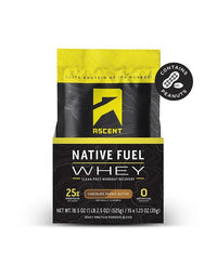 Ascent Native Whey Protien (Single) - Chocolate/Peanut Butter