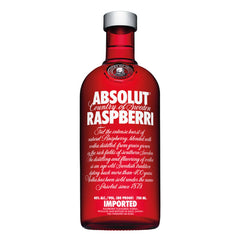 Absolut Raspberri Flavoured Vodka | Vodka Delivery | Booze Up