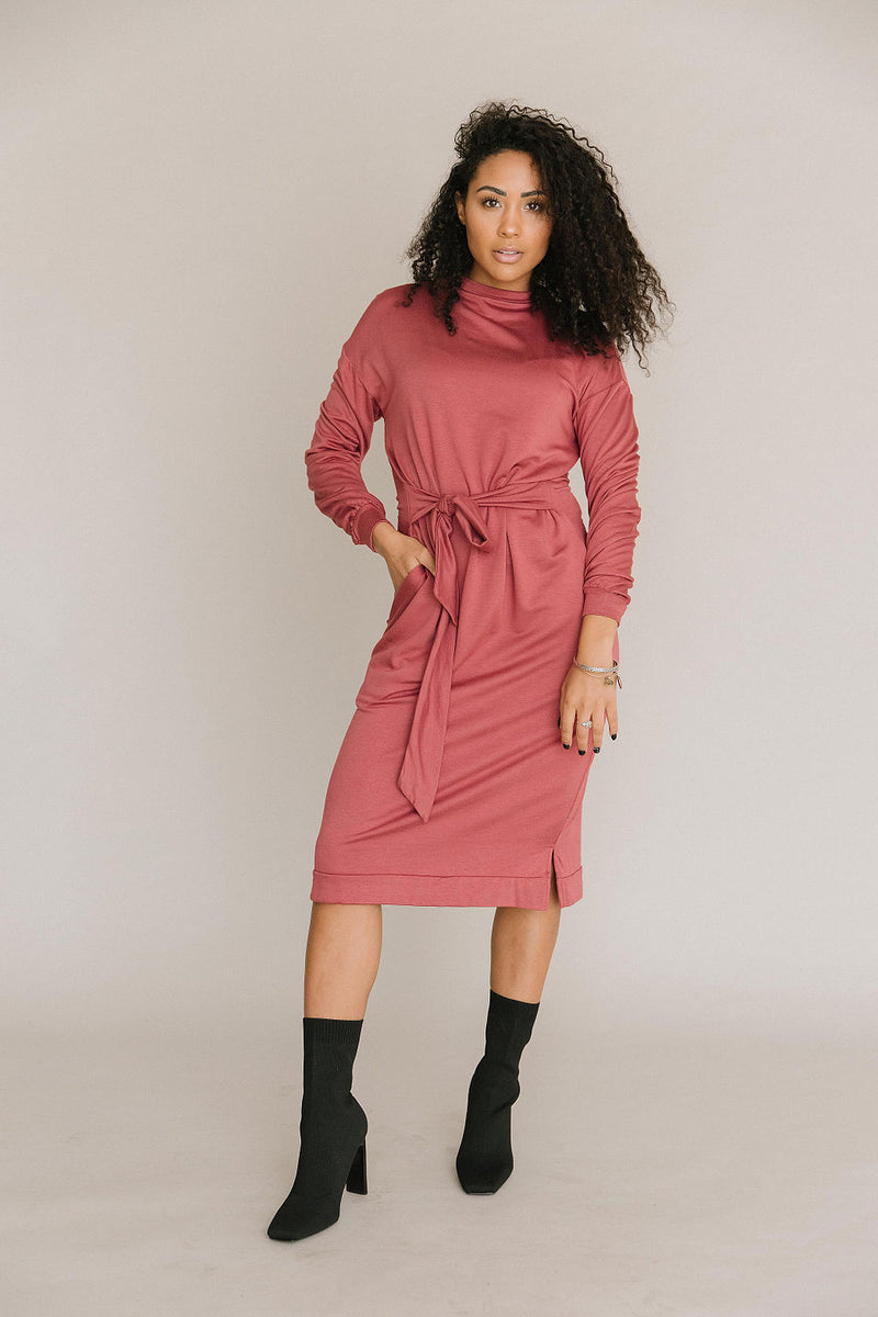 The Sweater Tie Dress