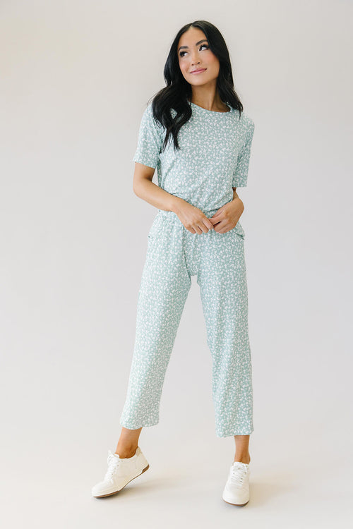Spring Lounge Set in Mint