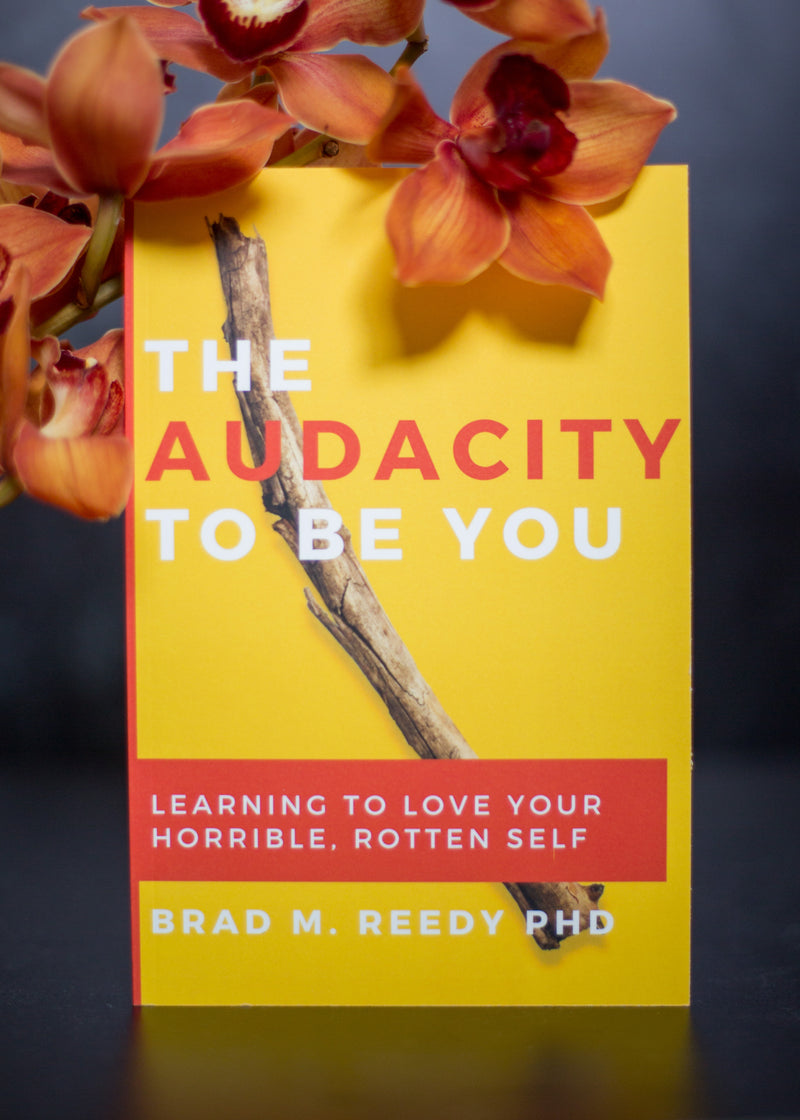 The Audacity to Be You: Learning to Love Your Horrible, Rotten Self