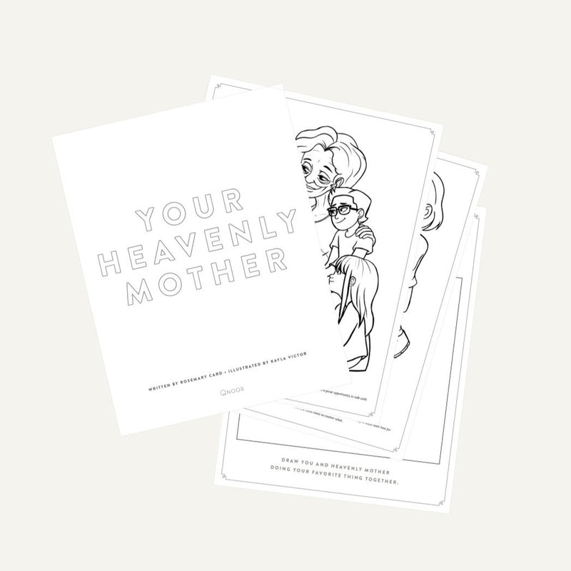 Your Heavenly Mother Coloring Book