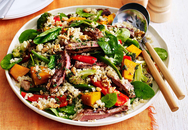 Beef And Quinoa Salad