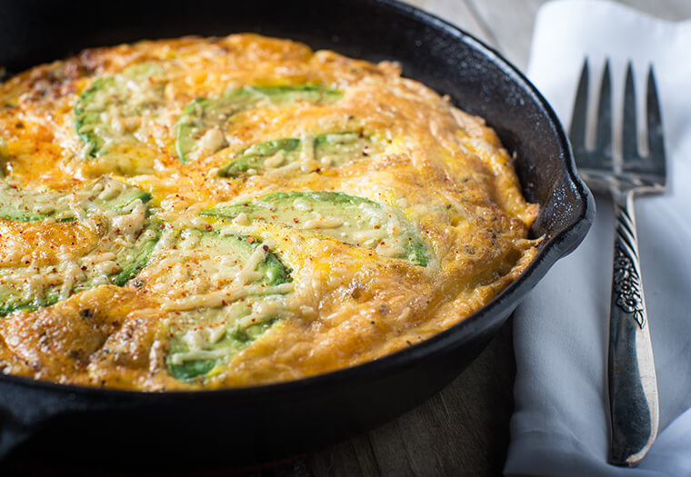 Easy Egg And Avo Omelette