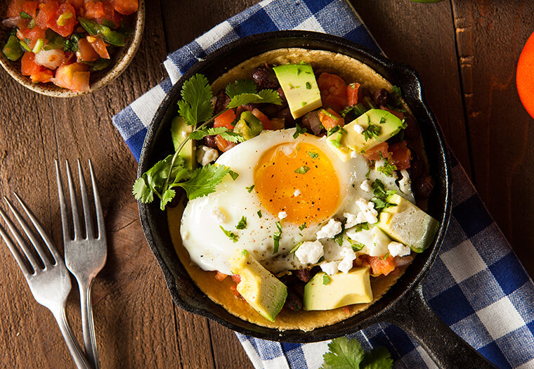 Mexican Bacon And Eggs