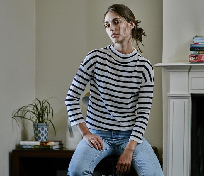 How to Wear: Breton Stripe Jumper