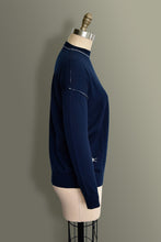 Contrast Seams Jumper