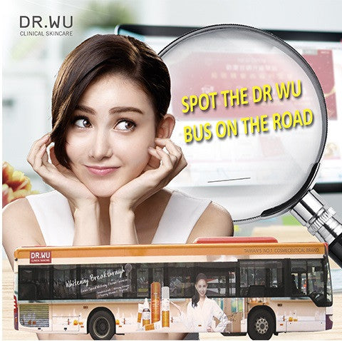 DR. WU Bus is up and running from Sep to Nov!