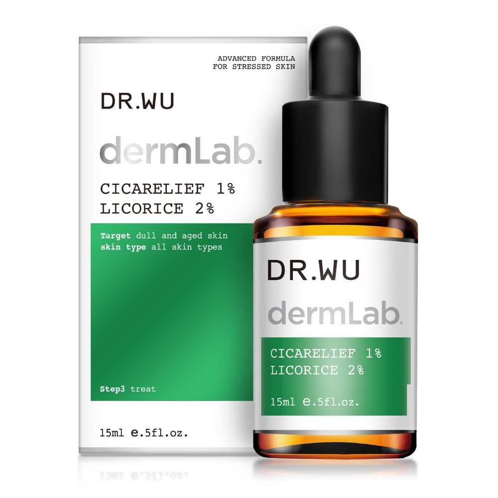 dermLab Cicarelief 1% Licorice 2% 15ml