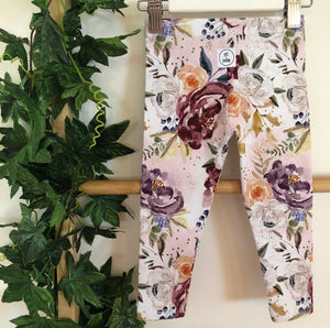 'Mulberry Bouquet' Leggings