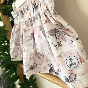 'Peony Party' Skirt
