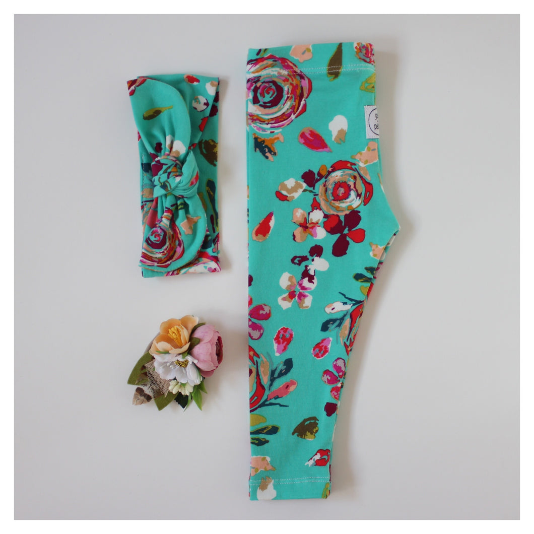 Ocean Bloom Leggings