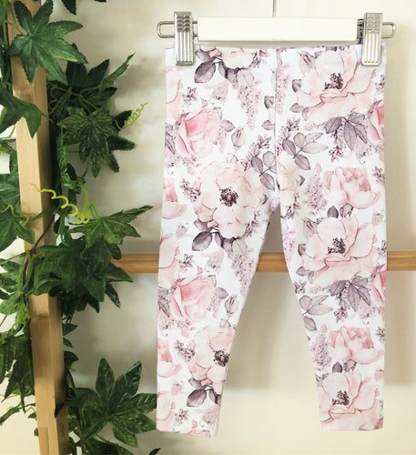 'Peony Party' Leggings