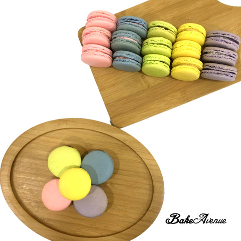Assorted Round Colored Macarons