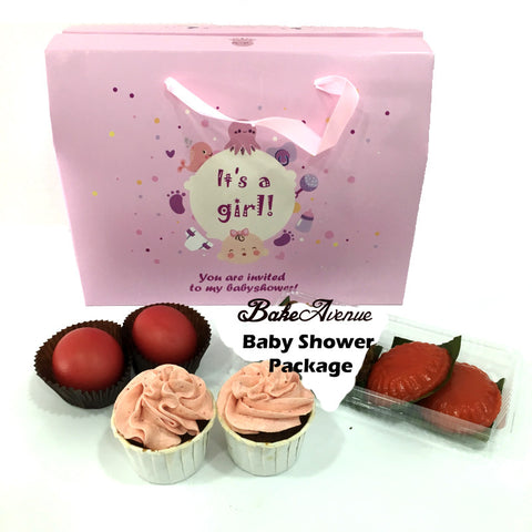 Baby Shower Package Basic Set A (Girl) - SG$10.80