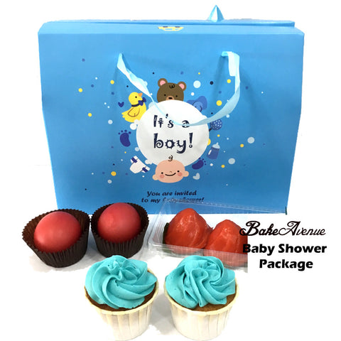 Baby Shower Package Basic Set A (Boy) - SG$10.80