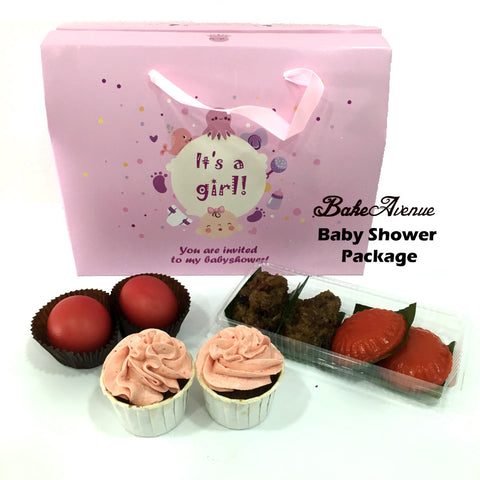 Baby Shower Package Basic Set B (Girl) - SG$12.80