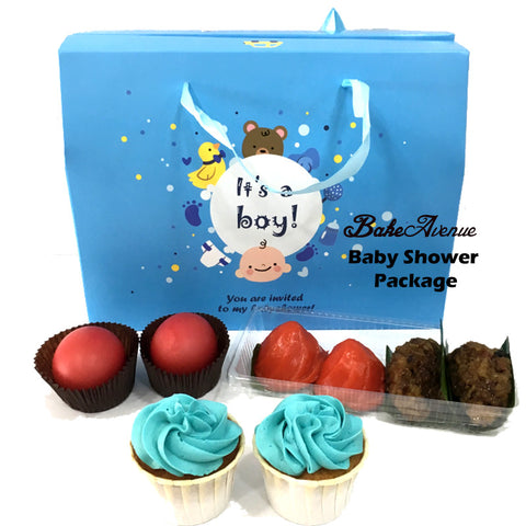 Baby Shower Package Basic Set B (Boy) - SG$12.80