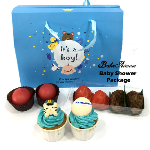 Baby Shower Package Premium Set A (Boy) - SG$15.80
