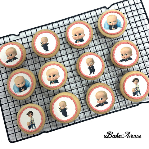 Baby Boss icing image Cookies