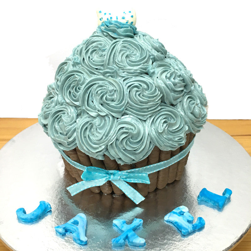 Baby Smash Cake - Giant Cupcake (Boy)