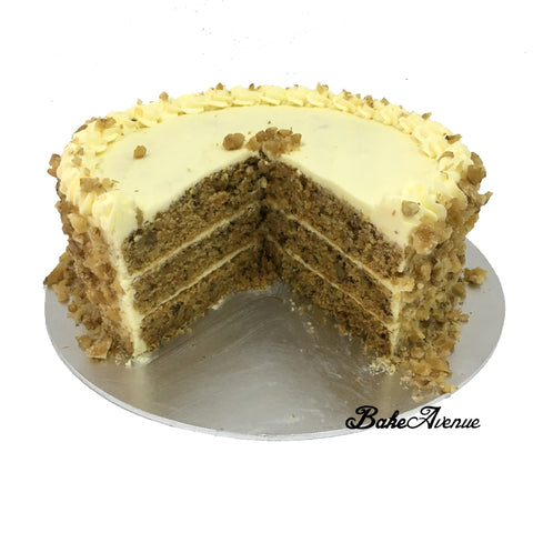 Carrot Cream Cheese Walnut Cake