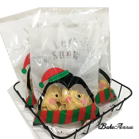 Christmas Cookies - Christimas Theme Assorted Butter Cookies in a Bag