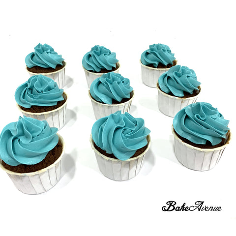 Baby Shower Cupcakes Package A (Boy) - SG$12.80