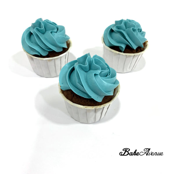 Colored Buttercream Cupcakes (Customise Your Own Color)