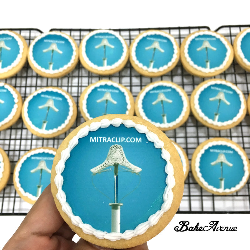 Corporate Orders - Cookies with company website