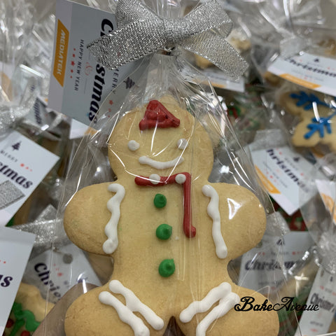 Corporate Orders - Christmas Assorted Large Cookies decorated with royal icing