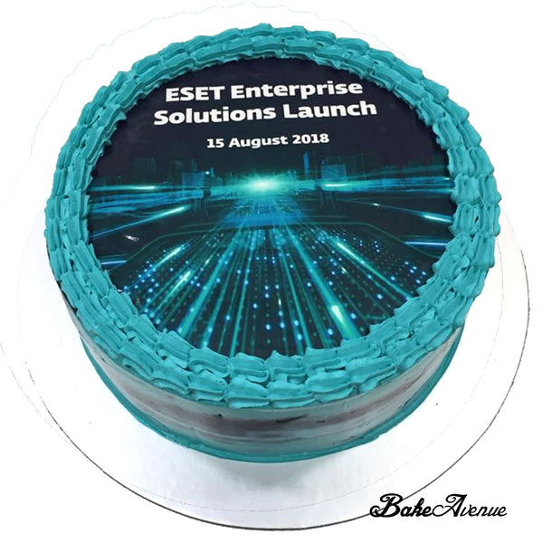 Corporate Orders - Cake (Round) - Product Launch