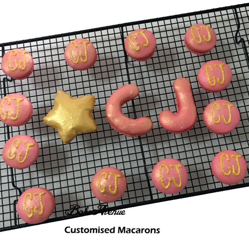 Customised Alphabet Macarons