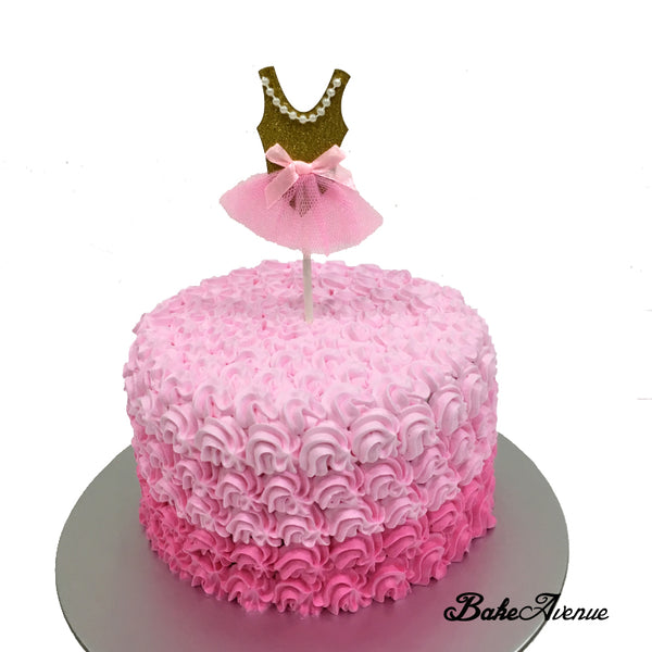 Dress topper Ombre Cake