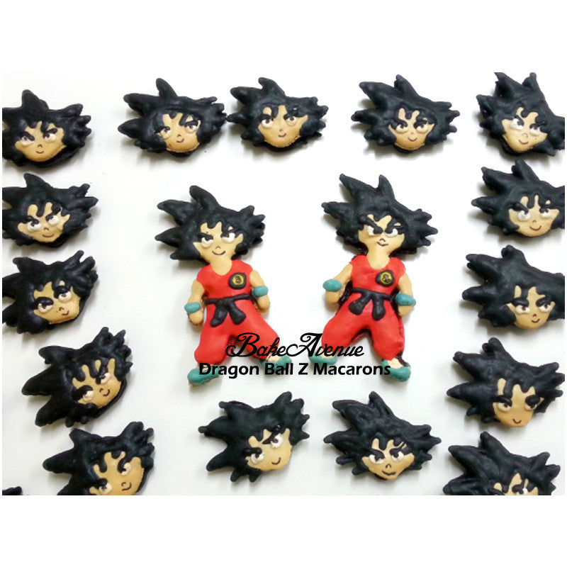 Dragon Ball Z Macarons