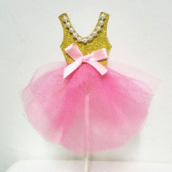 Dress (Gold/Pink) Topper