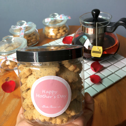 Mother's Day Special - Earl Grey Tea Cookies (Bottle) @ $13.80