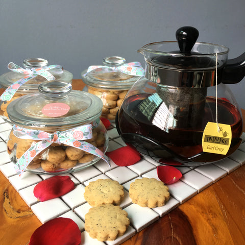 Mother's Day Special - Earl Grey Tea Cookies (Jar) @ $12.80