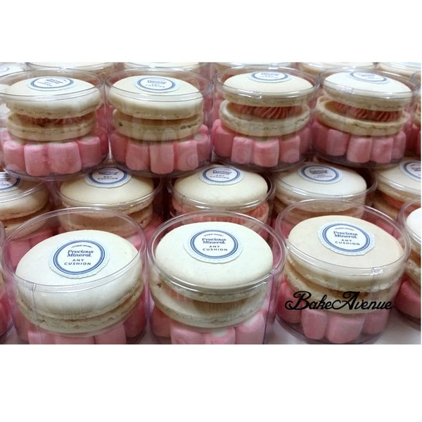 Corporate Orders - Macarons customised to company product (Skincare)