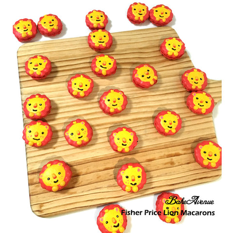 Fisher Price Lion Macarons