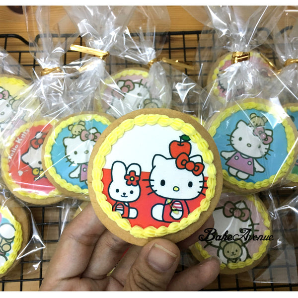 Hello Kitty icing image Cookies