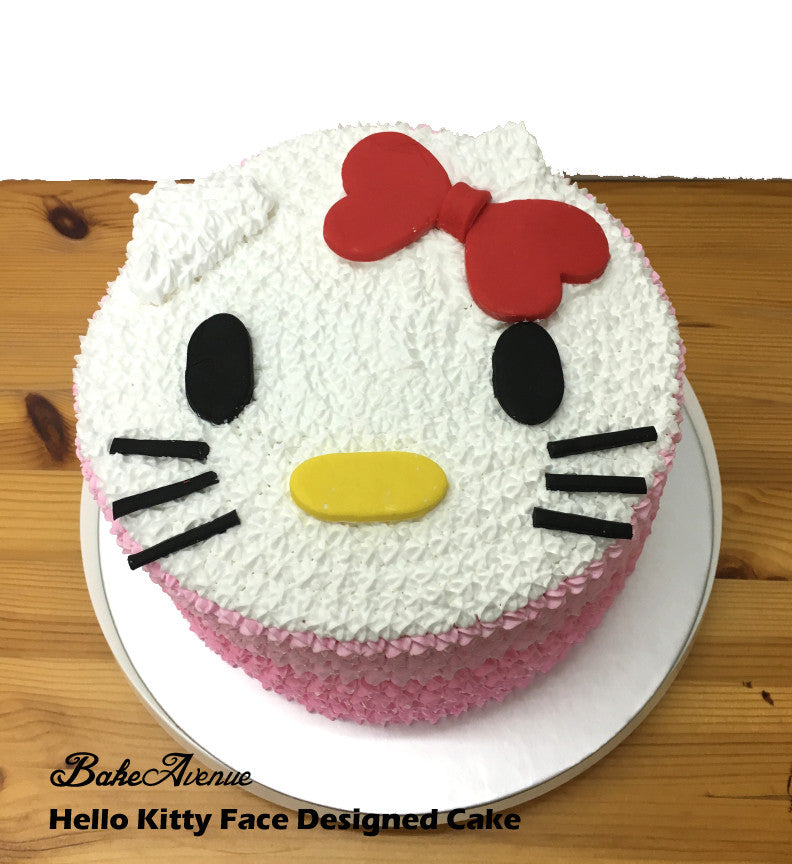 Hello Kitty Ombre Cake