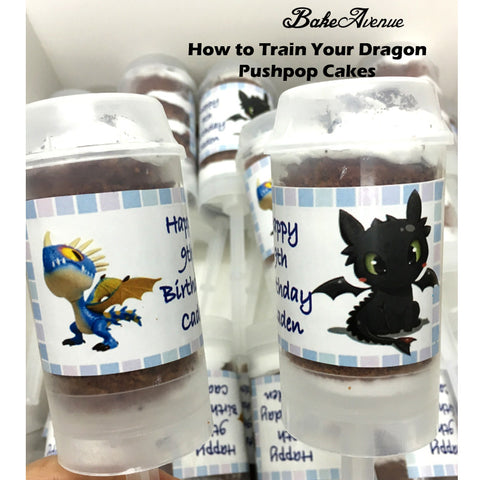 How to Train Your Dragon Pushpops