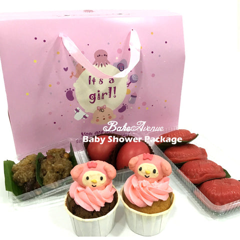 Baby Shower Package Premium Set B (Girl) - SG$16.80
