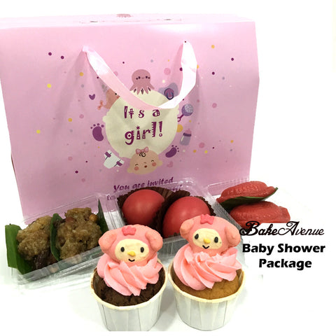 Baby Shower Package Premium Set A (Girl) - SG$15.80