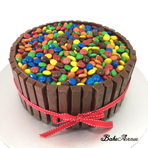 Kit Kat M&M Chocolate Cake