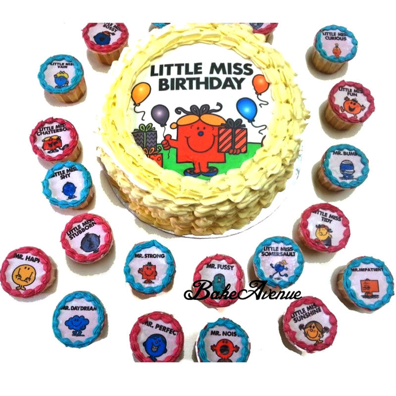 Little Miss Red Velvet Cake